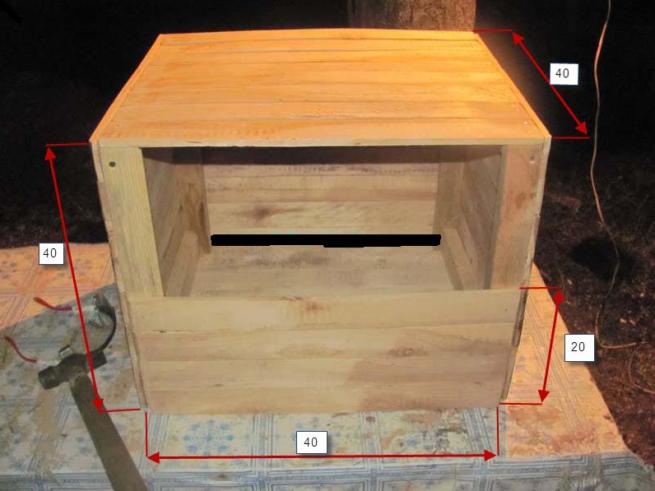 Гнездо ящик для кур-несушек
