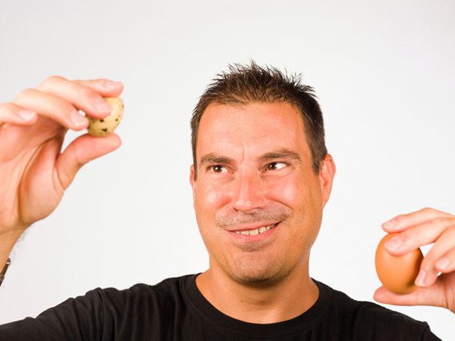 Перепелиные яйца для мужчин