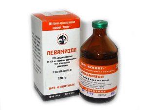 Левамизол для животных