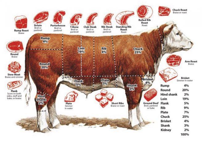Почему корова говядина